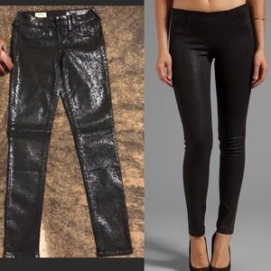 Sold Design Lab Soho super skinny black shimmer xs